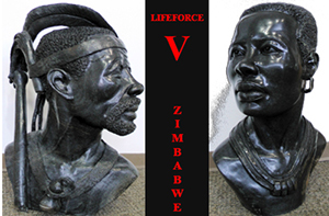 Lifeforce V exhibit at the Langston Hughes gallery on Feb. 9, 2013